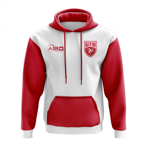 Isle Of Man Concept Country Football Hoody (White)