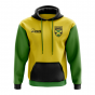 Jamaica Concept Country Football Hoody (Yellow)