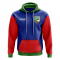 Khakassia Concept Country Football Hoody (Blue)