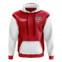 Kyrgyzstan Concept Country Football Hoody (Red)