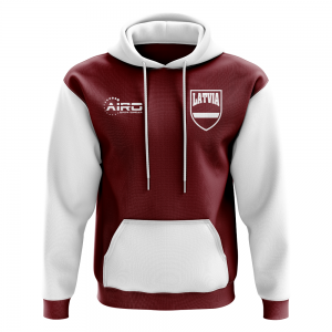 Lativa Concept Country Football Hoody (Red)