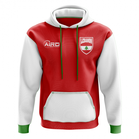 Lebanon Concept Country Football Hoody (Red)