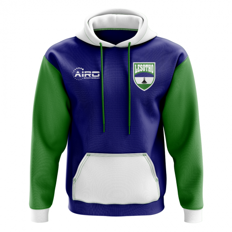 Lesotho Concept Country Football Hoody (Blue)