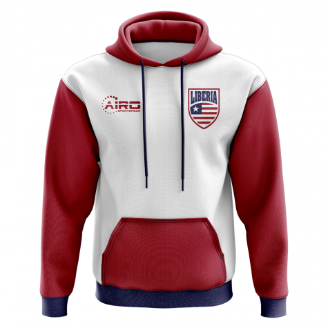 Liberia Concept Country Football Hoody (White)