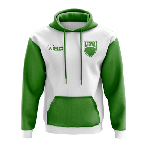 Libya Concept Country Football Hoody (White)
