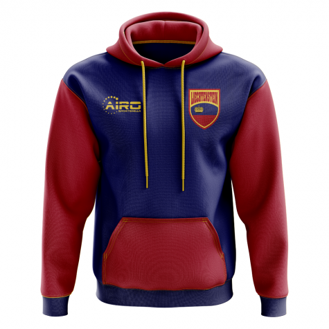 Liechtenstein Concept Country Football Hoody (Navy)