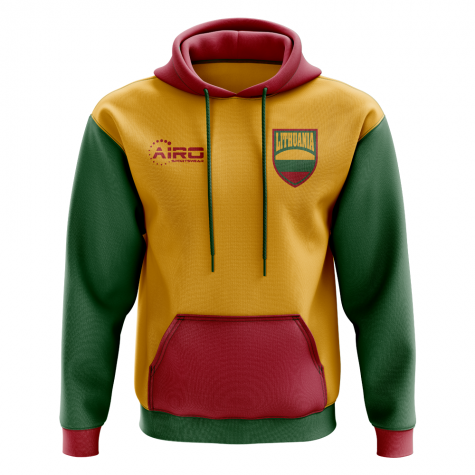 Lithuania Concept Country Football Hoody (Yellow)