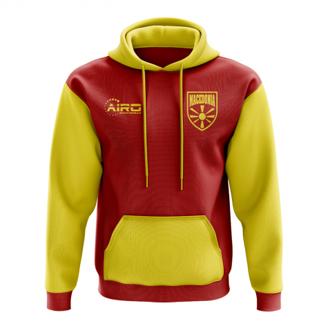 Macedonia Concept Country Football Hoody (Red)