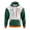 Cyprus Concept Country Football Hoody (White)