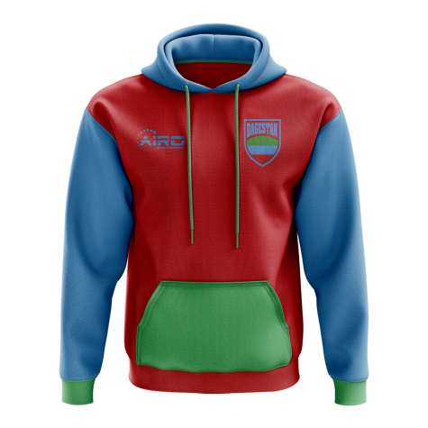 Dagestan Concept Country Football Hoody (Red)