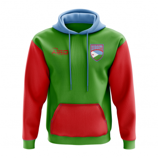 Djibouti Concept Country Football Hoody (Green)