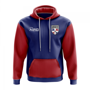Dominican Republic Concept Country Football Hoody (Navy)
