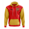 East Timor Concept Country Football Hoody (Red)