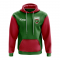 Maldives Concept Country Football Hoody (Green)