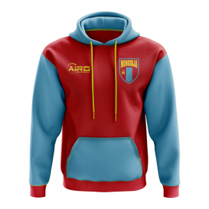 Mongolia Concept Country Football Hoody (Red)