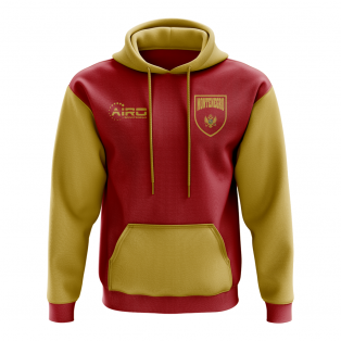 Montenegro Concept Country Football Hoody (Red)