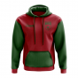 Morocco Concept Country Football Hoody (Red)