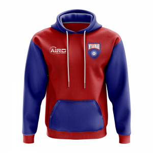 Myanmar Concept Country Football Hoody (Red)