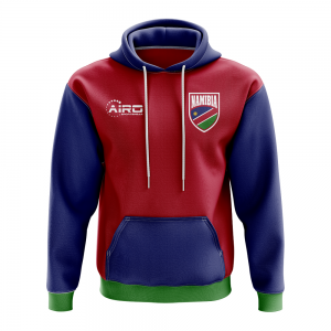Namibia Concept Country Football Hoody (Red)