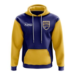 Nauru Concept Country Football Hoody (Blue)
