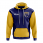 Nauru Concept Country Football Hoody (Blue)
