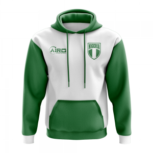 Nigeria Concept Country Football Hoody (White)