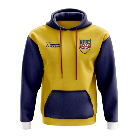 Niue Concept Country Football Hoody (Yellow)
