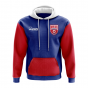 North Korea Concept Country Football Hoody (Blue)