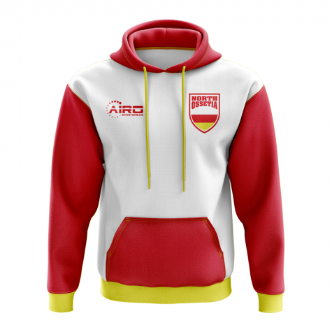 North Ossetia Concept Country Football Hoody (White)