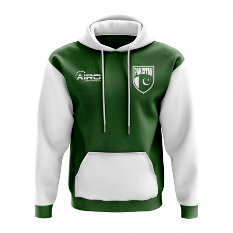 Pakistan Concept Country Football Hoody (Green)