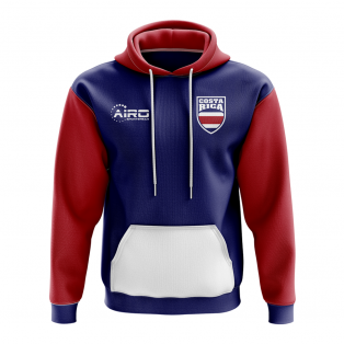 Costa Rica Concept Country Football Hoody (Blue)