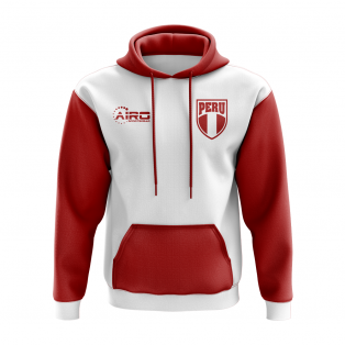 Peru Concept Country Football Hoody (White)