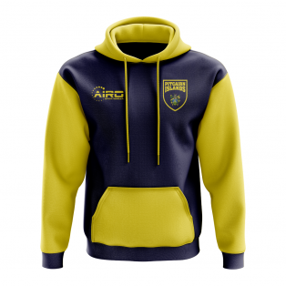 Pitcairn Islands Concept Country Football Hoody (Navy)
