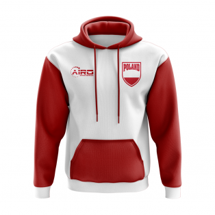 Poland Concept Country Football Hoody (White)