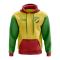 Republic Of Congo Concept Country Football Hoody (Yellow)