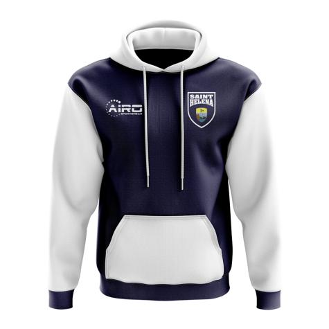 Saint Helena Concept Country Football Hoody (Navy)