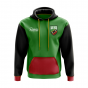 Saint Kitts and Nevis Concept Country Football Hoody (Green)