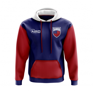 Samoa Concept Country Football Hoody (Blue)