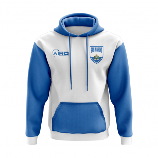 San Marino Concept Country Football Hoody (White)