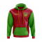 Sao Tome And Principe Concept Country Football Hoody (Red)