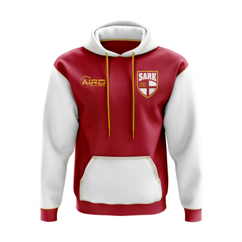 Sark Concept Country Football Hoody (Red)