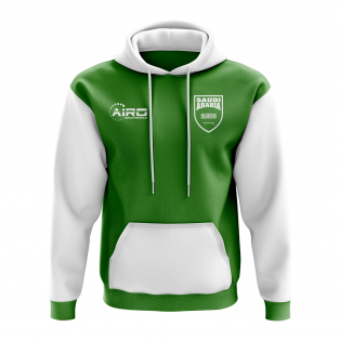 Saudi Arabia Concept Country Football Hoody (Green)