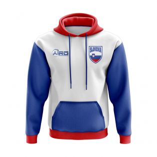 Slovenia Concept Country Football Hoody (White)