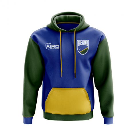 Solomon Islands Concept Country Football Hoody (Blue)