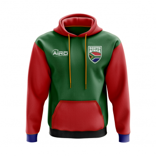 South Africa Concept Country Football Hoody (Green)