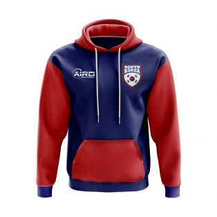 South Korea Concept Country Football Hoody (Blue)