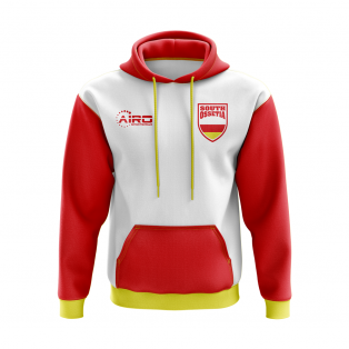 South Ossetia Concept Country Football Hoody (White)