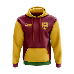 Sri Lanka Concept Country Football Hoody (Red)