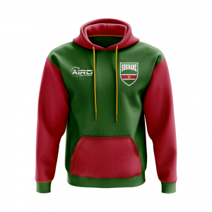 Suriname Concept Country Football Hoody (Green)