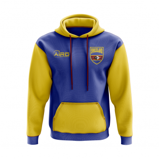 Swaziland Concept Country Football Hoody (Blue)
